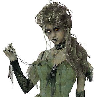 Zombie Lady Peruke For Halloween