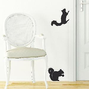 Squirrels Wall Stickers