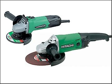 Hitachi Angle Grinder Twin Pack 115 mm + 230 mm 110 Volt
