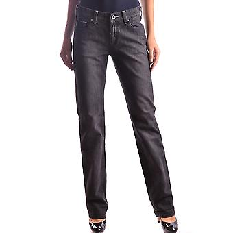 Armani Jeans Black Cotton Jeans