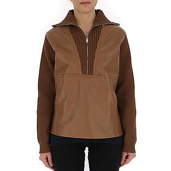 Suéter de Prada marrón cuero