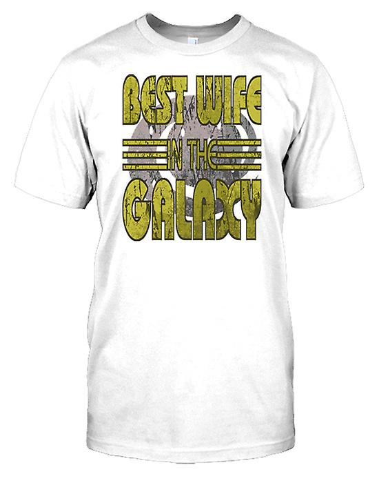 Best Wife In The Galaxy - Cool Mens T Shirt