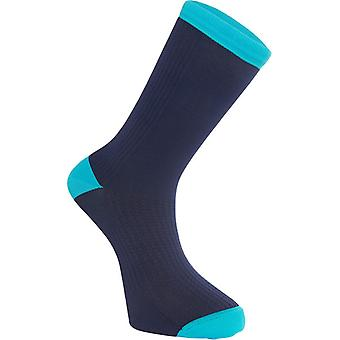 Madison Ink Navy Roadrace Premio Extra Long Cycling Socks