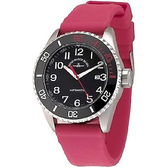 Zeno-watch mens watch of diver ceramic automatic 6492-a1-17