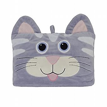 Aroma Home Cosy Up Kids Animal Hooded Blanket: Cat