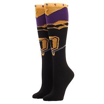 Avengers Infinity War Thanos Knee High Socks - One Size