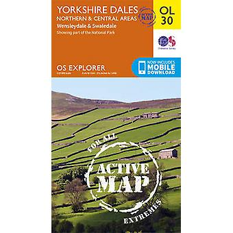 Yorkshire Dales Northern & Central by Ordnance Survey - 9780319475379