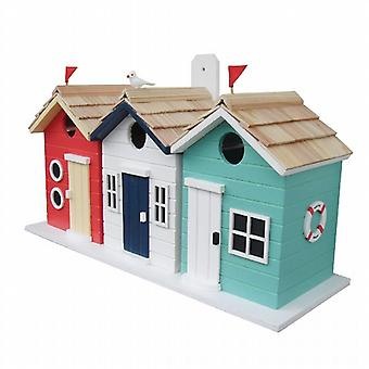 Beach Hut Birdhouses (3 in 1)