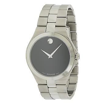 Movado Stainless Steel Mens Watch 0606555