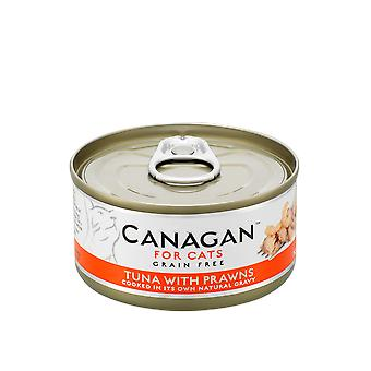 Canagan 75g Tuna with Prawns Cat Wet Food Can - 1 x 75g Can