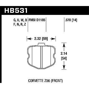 Hawk performance HB531N. 570 PK plus