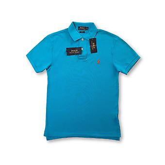 Ralph Lauren Polo lim fit polo in Caribbean blue