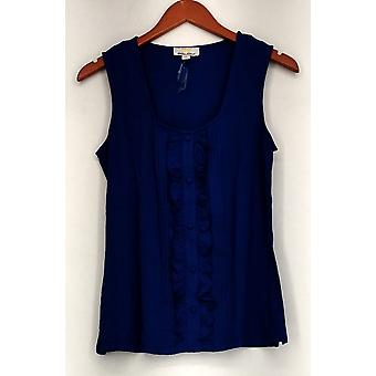 Kathleen Kirkwood Top Tux Luxe Tank / Camisole Blue A222047