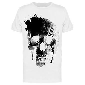 Crying Skull Grafica Tee Uomini's -Immagine di Shutterstock