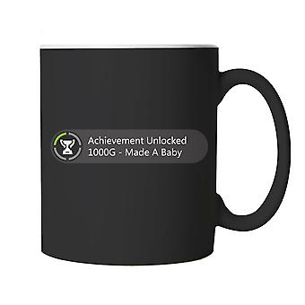 Achievement Unlocked Made A Baby Gaming Mug | Parenthood Parenting Children Son Daughter Twins | Gamer Graphics Console PC Shooter RPG Free Roam | Gamer Parent Cup Gift