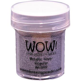 Wow! Embossing Powder 15Ml Silver Wow Wc05r
