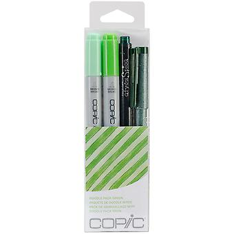Copic Doodle Pack Green Dpgrn