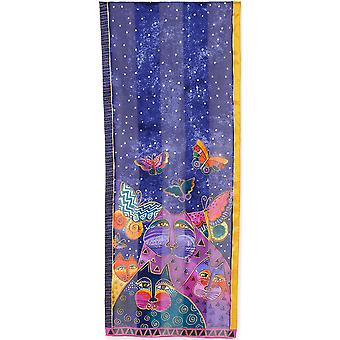 Laurel Burch Scarves Cats with Butterflies Lbs2 197