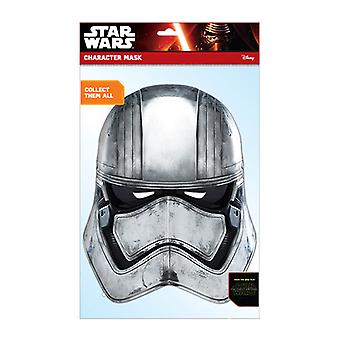 Captain Phasma Official Star Wars The Force Awakens Card Party Face Mask