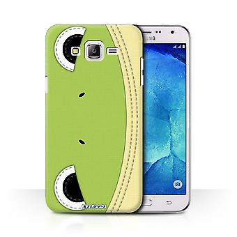 STUFF4 Case/Cover for Samsung Galaxy J7/J700/Frog/Animal Stitch Effect