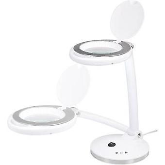 SMD LED desk magnifier lamp 5 W TOOLCRAFT 1425137 Operating radius: 45 cm