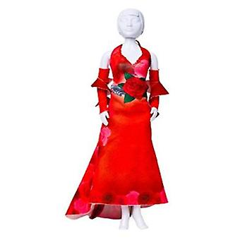 Dress Your Doll Mary Red Roses (Toys , Educative And Creative , Design And Mode , Mode)