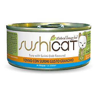 Sushicat Tuna with Surimi 70g (Cats , Cat Food , Wet Food)