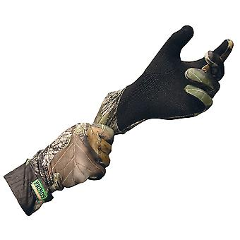 Primos Stealth Camo Gloves sure grip break up camouflage hunting shooting