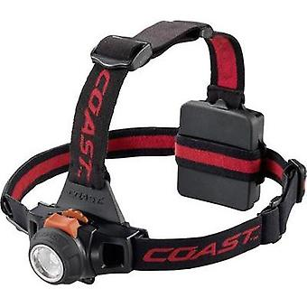 LED Headlamp Coast HL27 battery-powered 170 g Red, Black 138683