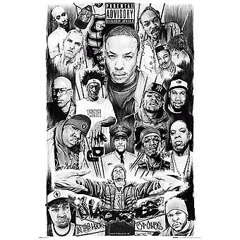 Rap gudene 2 Maxi plakat