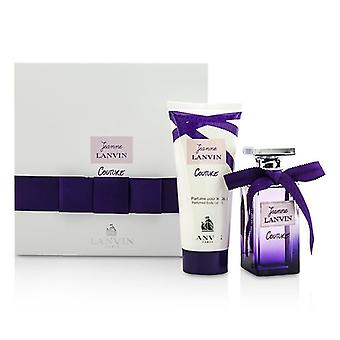 Jeanne Lanvin costura Coffret: Eau De Parfum Spray 50ml / 1.7 oz + loción corporal 100 ml / 3.3 oz 2pcs