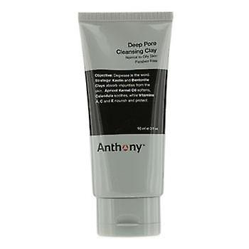 Anthony Logistics For Men Deep Pore Cleansing Clay (Normal To Oily Skin) - 90g/3oz