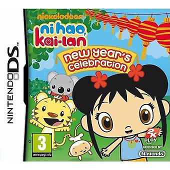 Ni Hao Kai Lan nye år fest Nintendo DS spil