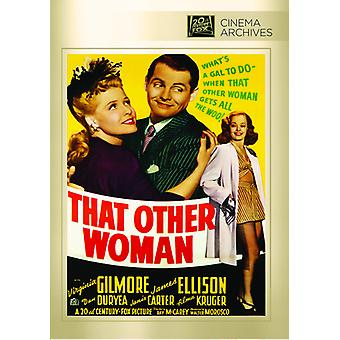 That Other Woman [DVD] USA import