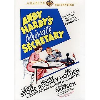 Andy Hardy's Private Secretary [DVD] USA import