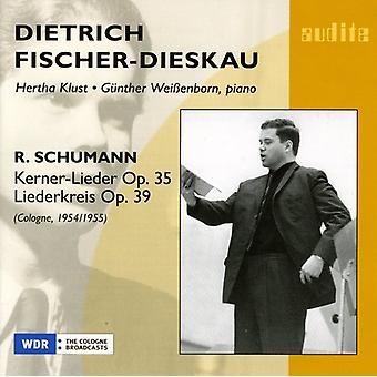 R. Schumann - Schumann: Kerner-Lieder, Opus 35; Liederkreis, Op. 39 [CD] los E.e.u.u. las importaciones