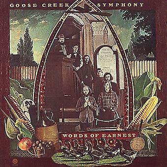 Goose Creek symfoni - ord for alvor [CD] USA import