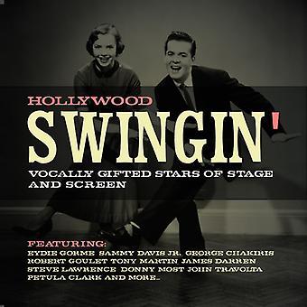 Forskellige kunstner - Hollywood Swingin: Vokalt begavede stjerner [CD] USA import