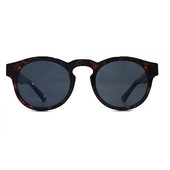 Levis Keyhole Round Sunglasses In Tortoiseshell Polarised