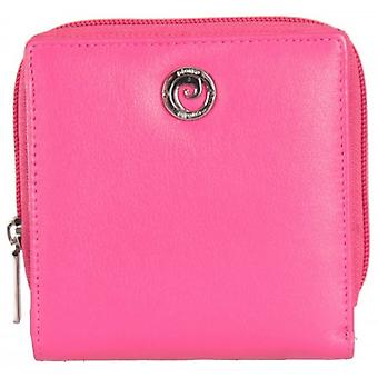 Pierre Cardin Flap Over Purse - Bright Pink