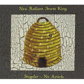 New Radiant Storm King - Singular No Article [CD] USA import
