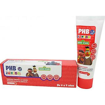 PHB Junior 6-9 Year Strawberry Toothpaste 75ml