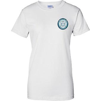 NSA National Security Agency USA - Insignia - Ladies Chest Design T-Shirt