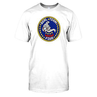 Kinder T-shirt DTG Print - Seal Team 4 - US Navy-
