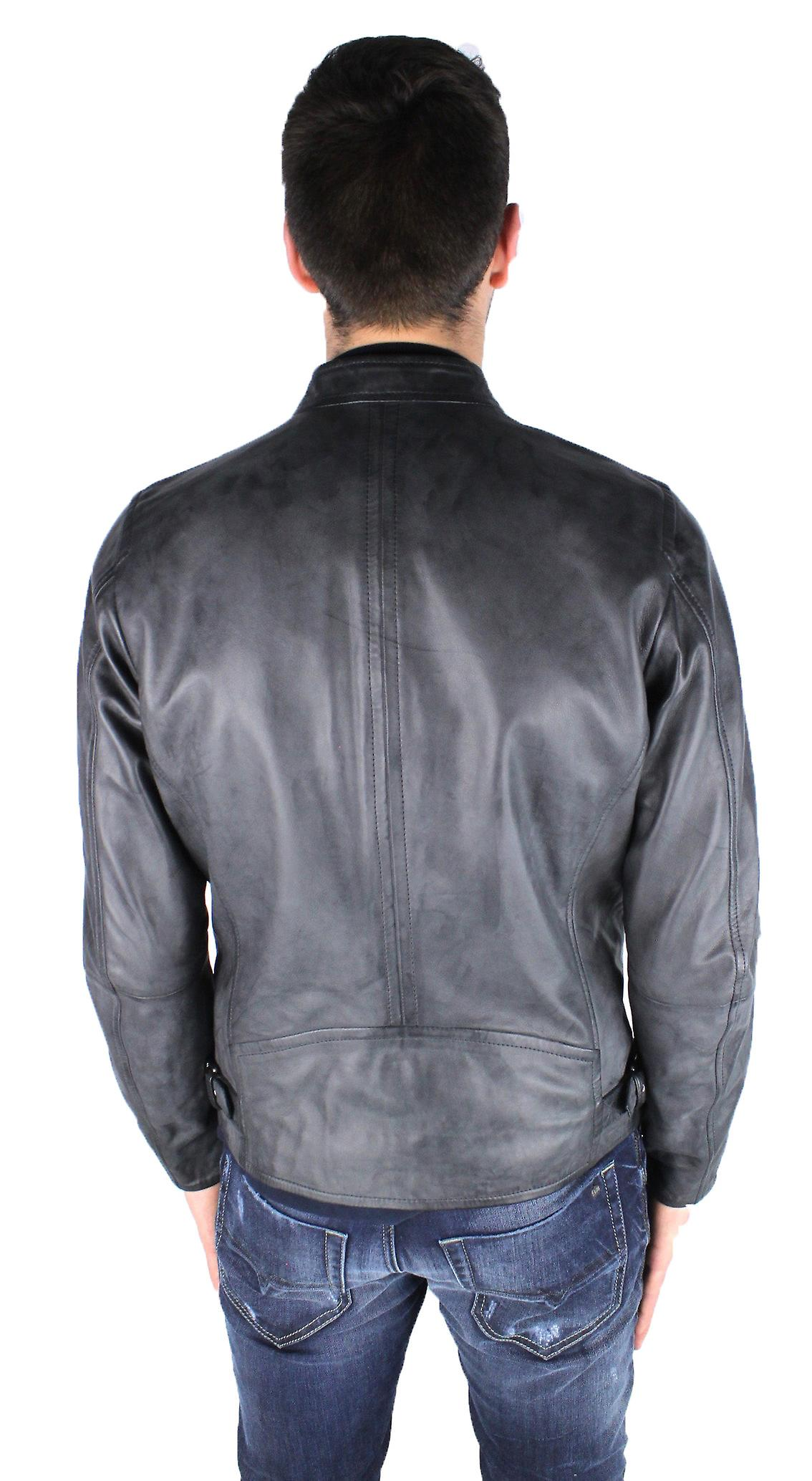 Diesel L-Edg 900 Leather Jacket