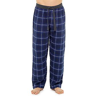 Foxbury Herre Plaid Check pyjamas bunde Lounge slid bukser