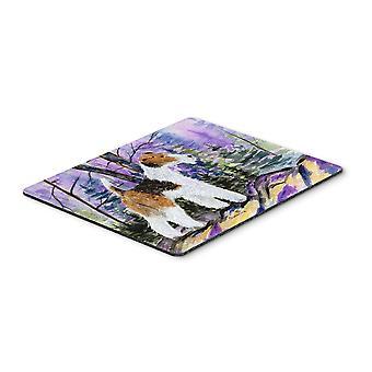 Carolines Treasures  SS8630MP Fox Terrier Mouse pad, hot pad, or trivet