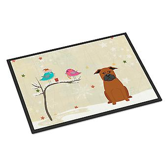 Christmas Presents between Friends Chinese Chongqing Dog Indoor or Outdoor Mat 1