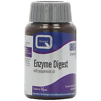 Quest Enzyme Digest, 180 vegi tablets