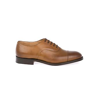Church's men's CONSULCALFTABACCO Braun leather lace-up shoes